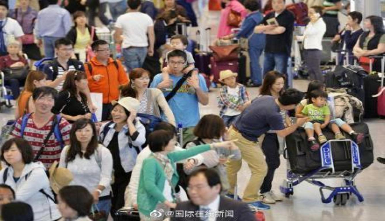 日本开启10天黄金周假期 国内外旅游人数要破纪录了
