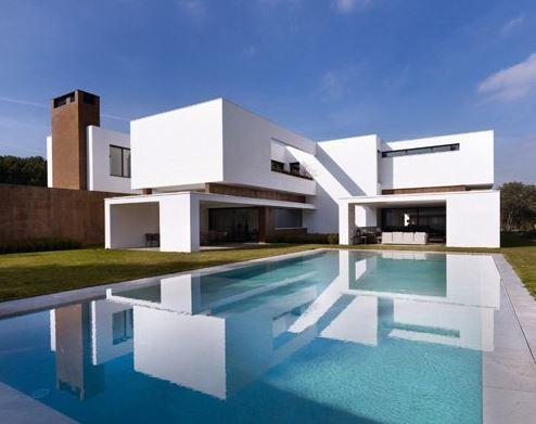 马德里现代艺术豪宅欣赏 简约大气