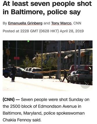 巴尔的摩枪击案原因是什么
