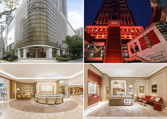 卡地亚推出国内首家全新概念设计门店