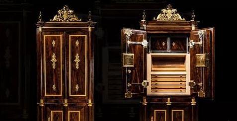 56万!这可能是世界上最奢侈雪茄保湿柜之一了!