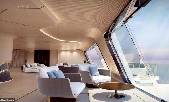 115米超级游艇Tuhura:传统与未来的结合 酷似独木舟