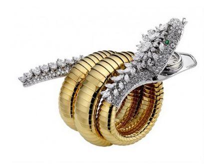 戴宝格丽Serpenti系列珠宝的女人都不简单