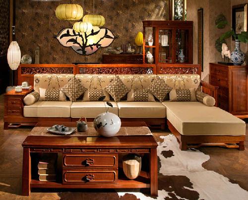 """""""克莎蒂红木沙发LS001SF2""""一套红木家具多少钱"""