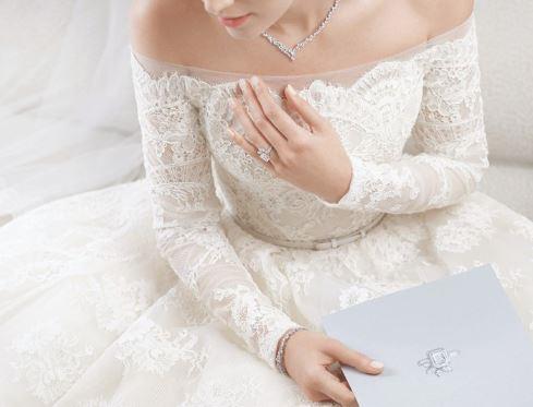 一袭华裳一世典藏 Harry Winston全新高级定制婚嫁珠宝系列