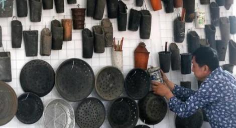山东一市民15年间收集1万多件老物件