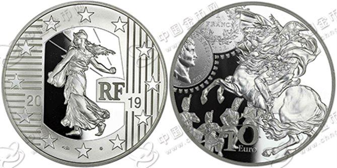 盘点那些描绘过拿破仑一世形象的法国纪念币