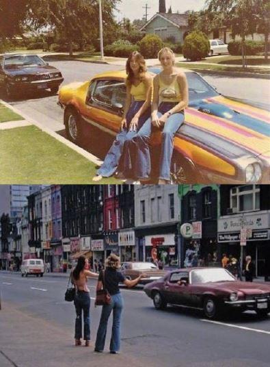 七十年代的欧美街拍 重温那个年代的街头时尚