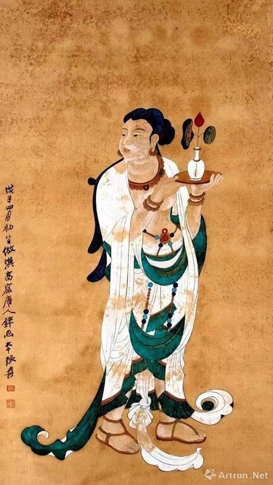 张大千:敦煌壁画对于中国画坛的十大影响