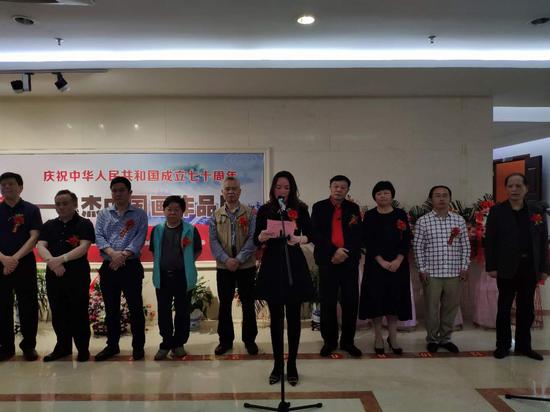 《醉美乡情—魏杰中国画作品展》在南昌举行