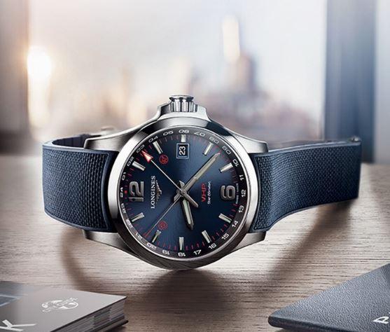 精准抗造 品鉴浪琴康卡斯系列V.H.P. GMT光感设置腕表