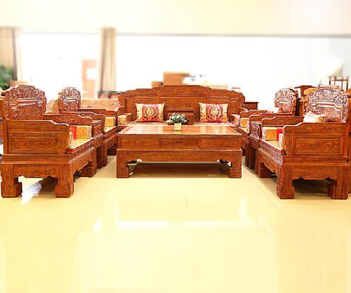 """""""卓匠红木沙发SF0321""""一套红木沙发价格"""