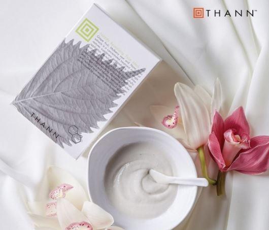 来自异国的自然馈赠 就是我爱你的形状 Thann庭润紫苏系列