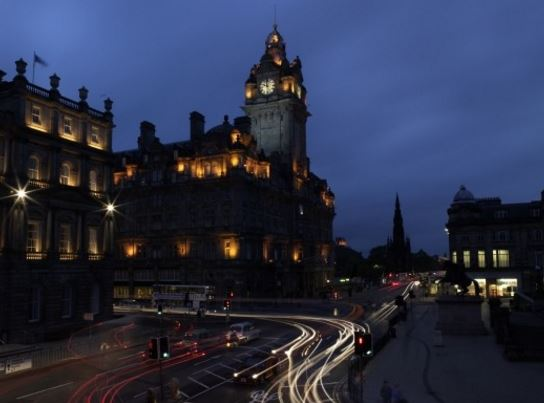 爱丁堡The Balmoral酒店 3分钟距离