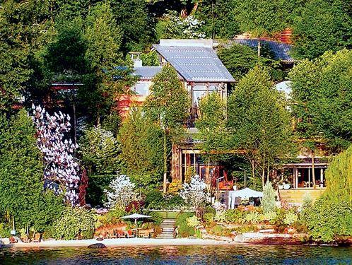 """比尔盖茨的智能家居豪宅 首富的""""未来之屋"""""""