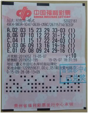 遵义彩民守号12年 终获511万元大奖