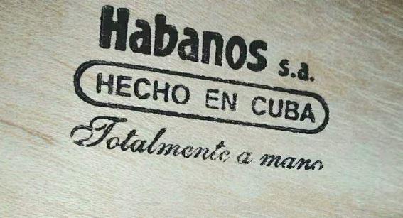 古巴雪茄上面的英文有什么含义?