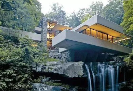 世界顶级豪宅: 流水别墅Fallingwater