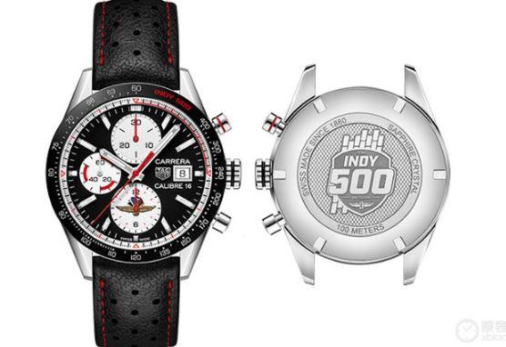 TAG Heuer泰格豪雅推出两款印第500特别版腕表