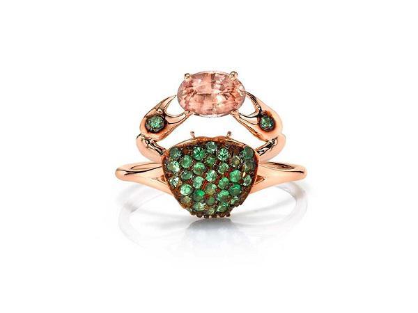 珠宝设计师Daniela Villegas推出以自然为主题的珠宝