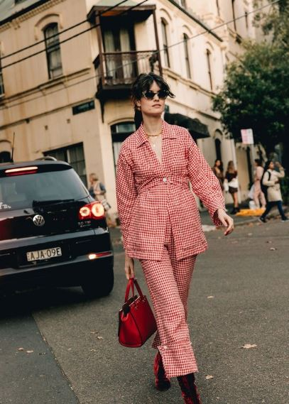 2020早春澳大利亚时装周秀场外街拍特辑:时髦与实穿兼得
