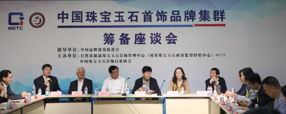 中国珠宝玉石首饰品牌集群筹备座谈会在上海举行