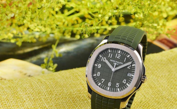 """百达翡丽Aquanaut系列""""绿手雷""""腕表 时尚与运动的融合"""