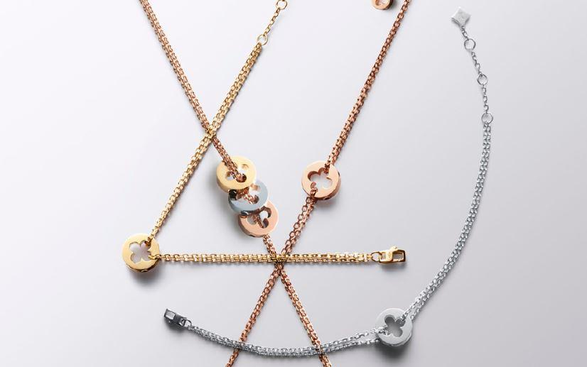 路易威登 Empreinte 系列珠宝 黄金与白金的构建融合