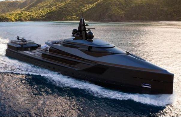 迪拜游艇展豪华游艇盘点 颇具未来范儿