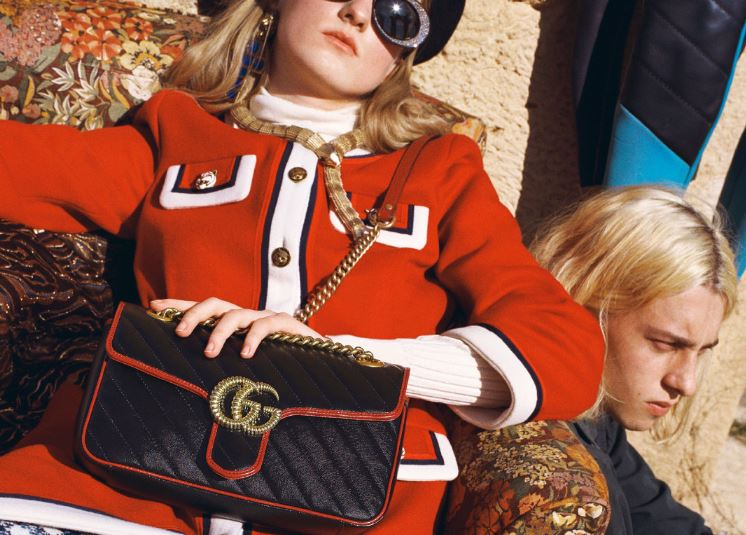 欢愉和享乐的精神全新 GG Marmont 手袋登场