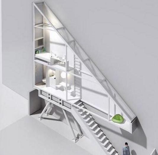 全世界最窄小的豪宅 宽度仅0.7米