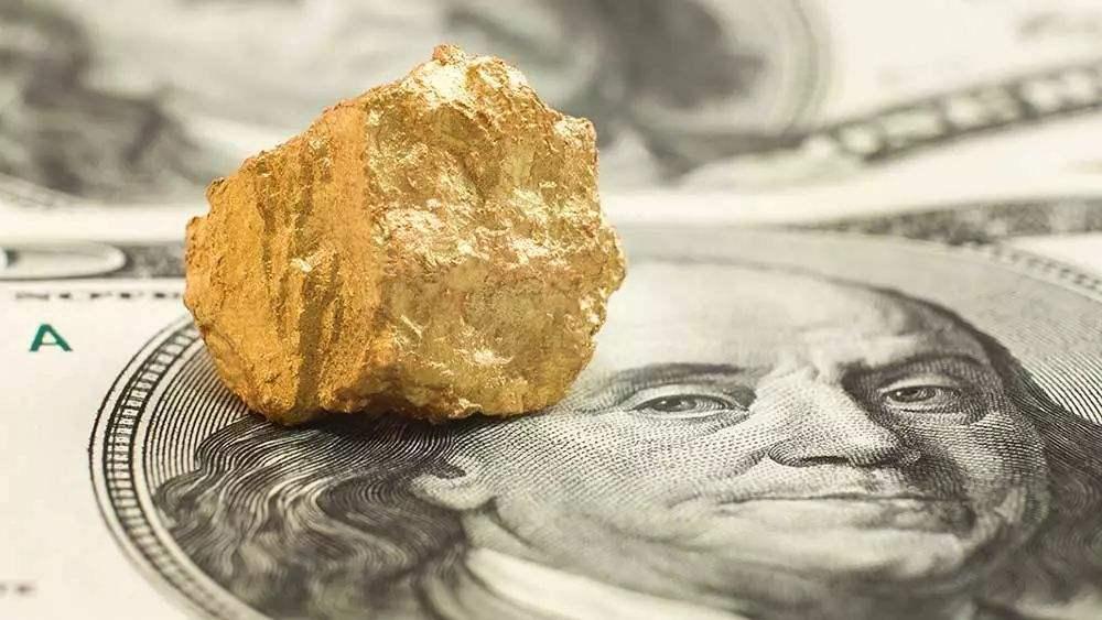 美元短线震荡回升 现货黄金徘徊不前