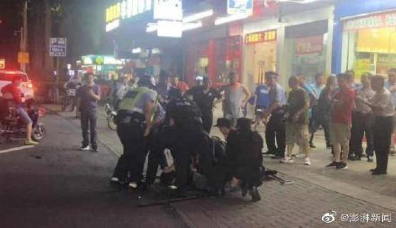 广东砍人事件致8伤 经调查嫌疑人系醉酒滋事