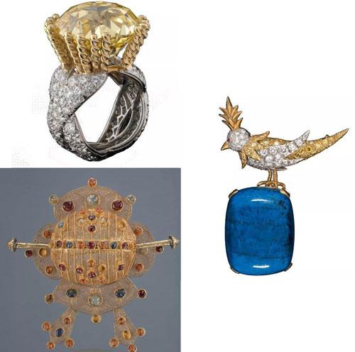 123件20世纪珠宝艺术珍品将在中国国家博物馆展出