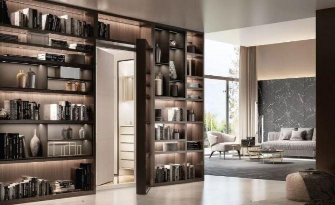 豪宅装饰 顶级保险柜和豪宅的完美搭配
