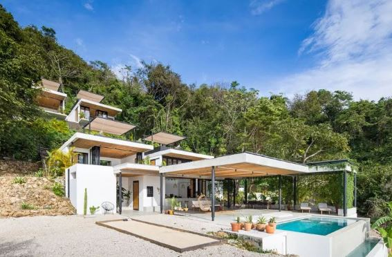 置身于林中的现代化设计豪宅图鉴