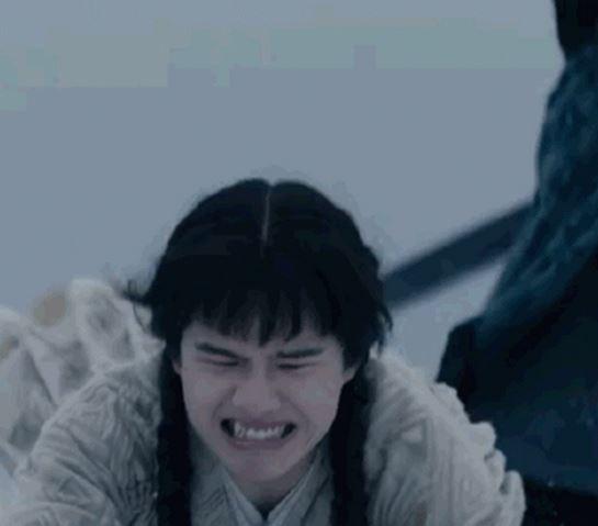 刘昊然双麻花辫 小虎牙加少女空气刘海戳中笑点