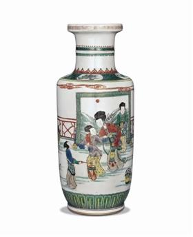 """一只康熙瓷瓶上演绎的""""贵妃醉酒"""""""