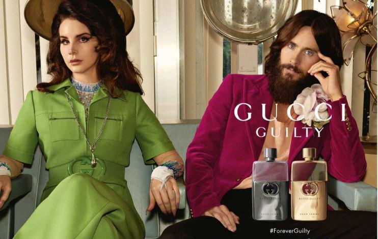 打雷姐和莱托少爷Gucci香水最新写真大片