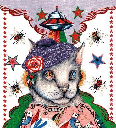 猫科动物的野性释放 古驰Le Marché des Merveilles系列珠宝