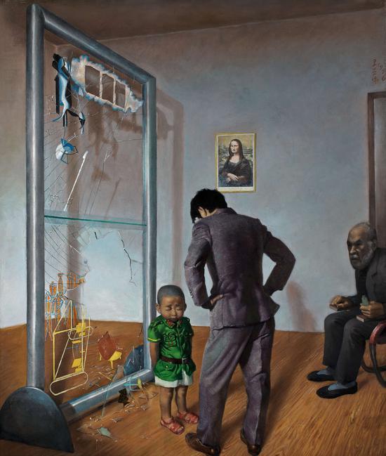 王兴伟经典作品《可怜的老汉密尔顿》以2185万元(图1)