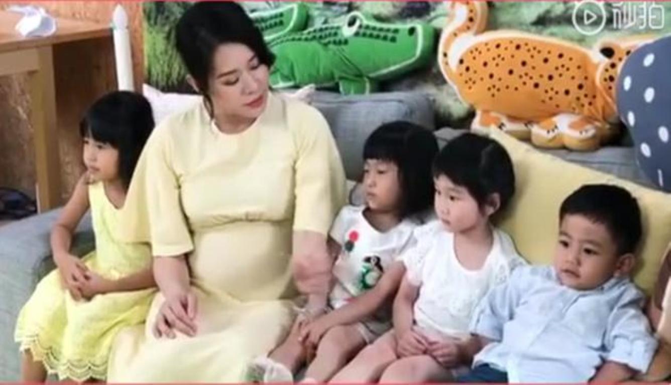 胡杏儿晒孕期视频 将与5位小朋友合作拍摄母婴广告