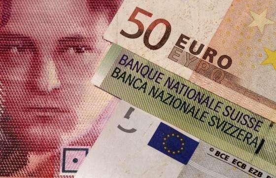 瑞士央行政策选项减少 瑞郎冲上近两年高位