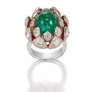 "107件精美珠宝亮相""Hong Kong Jewels and Jadeite""珠宝拍卖"