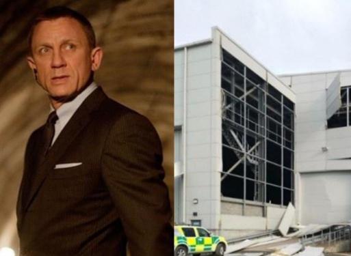 007片场发生爆炸 有一名在外的工作人员受了轻伤