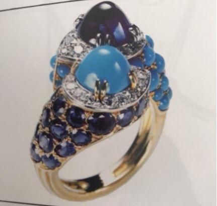 关于海洋元素设计的经典珠宝设计 简直美到没朋友