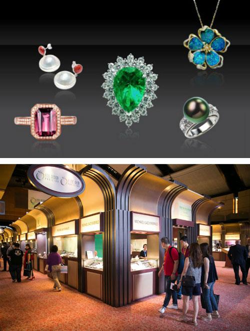 超过1900家参展商参加六月香港珠宝首饰展览会