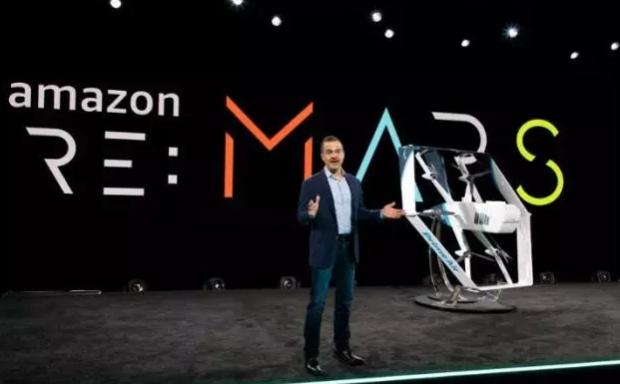 亚马逊送货无人机 像商用飞机一样强大和稳定