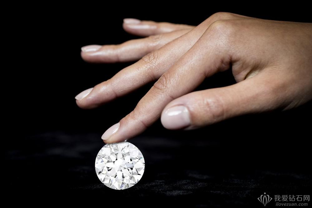 10克拉钻石有多大?