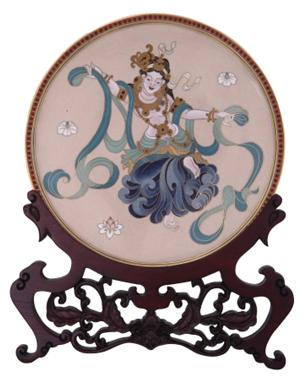 """""""第九届国际传统艺术邀请展""""在上海艺术品博物馆举行"""